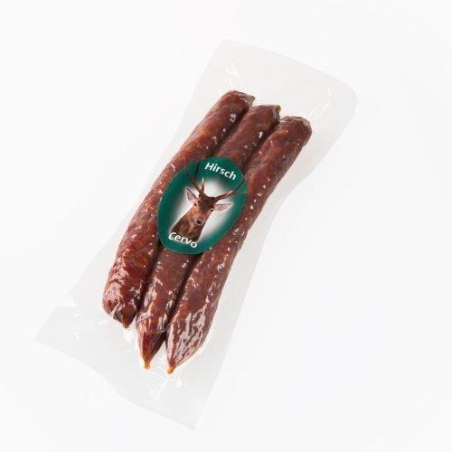 Salamino con cervo – Hirschkaminwurzen