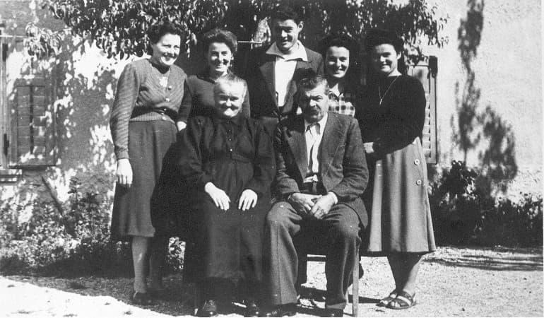 la famiglia Melchiori