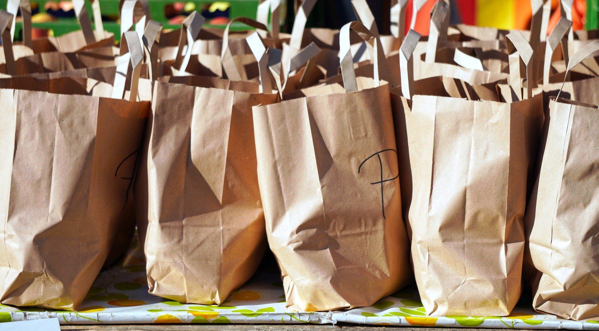 sacchetti shop di carta